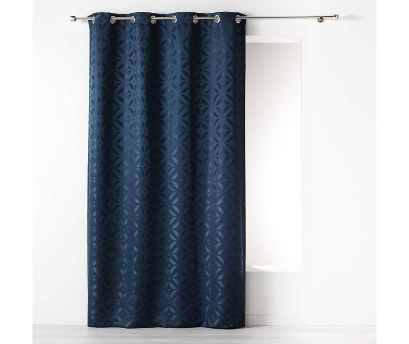 Zastor Majestic Dark Blue 140x260 cm