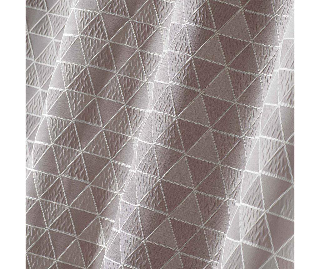Draperie Isometric Grey 140x260 cm