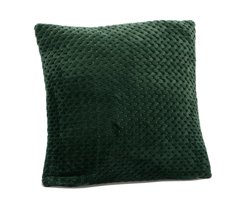 Dekorační polštář Damier Green 40x40 cm