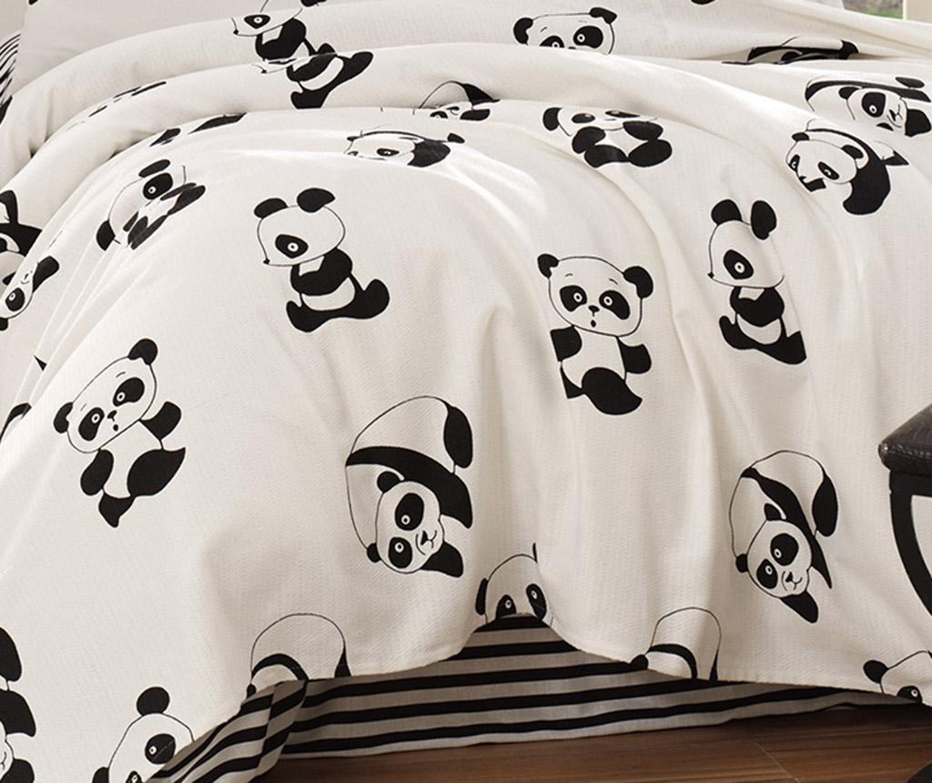 Prekrivač Pique Panda 200x200 cm