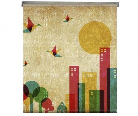 Rolo zavesa Vintage City 100x150 cm