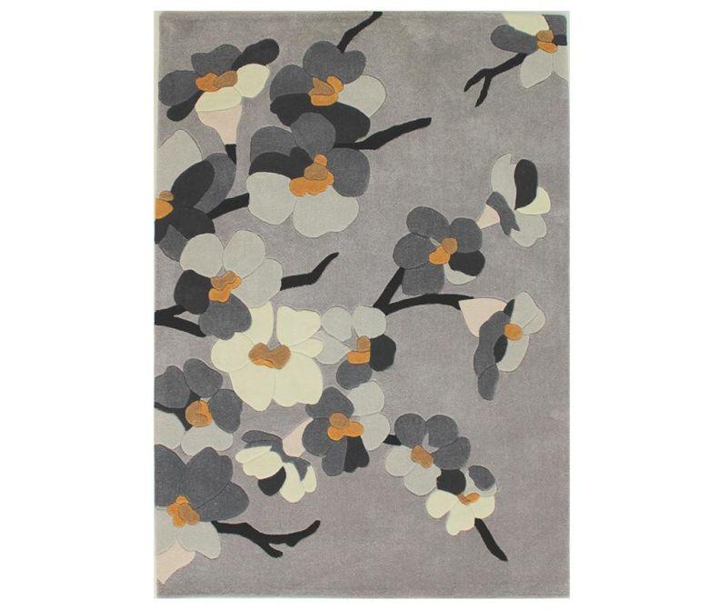 Tepih Blosson Grey 80x150 cm