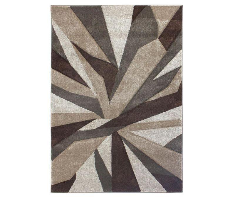 Koberec Shatter Brown 80x150 cm