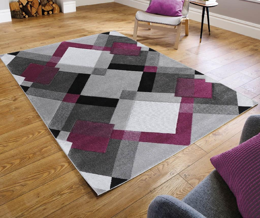 Tepih Nimbus Grey & Purple 120x170 cm
