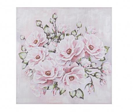 Flores Multi Festmény 100x100 cm