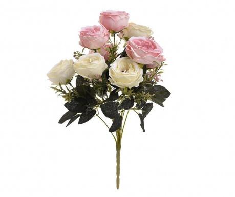 Букет изкуствени цветя Pastel Roses