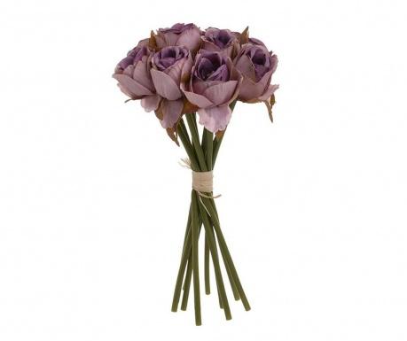 Букет изкуствени цветя Violet Roses
