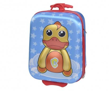 Walizka dziecięca na kółkach Duck 20 L