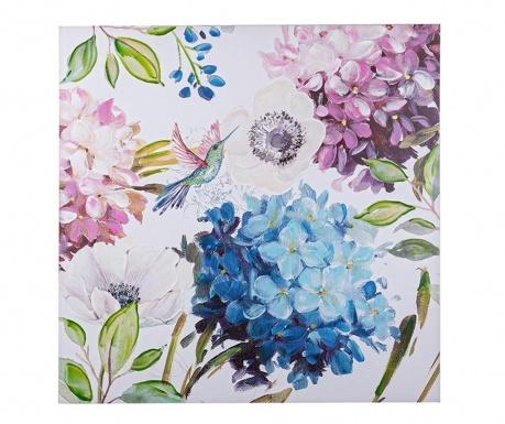 Obraz Lilac Humming Bird 100x100 cm