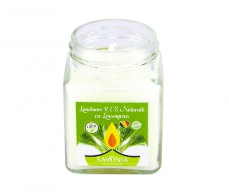 Ароматизирана свещ Savonia Lemongrass