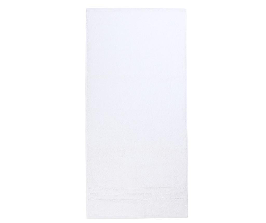 Kopalniška brisača Omega White 70x140 cm