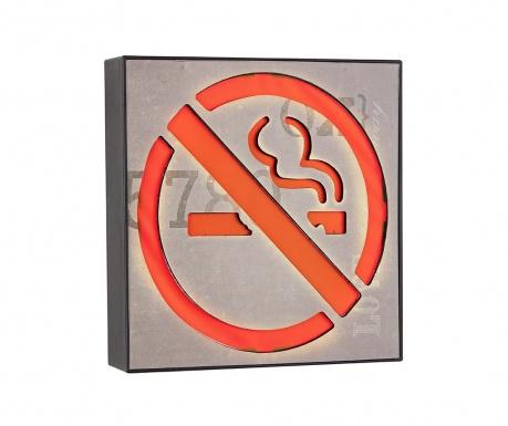 Świetlna dekoracja ścienna No Smoking Please