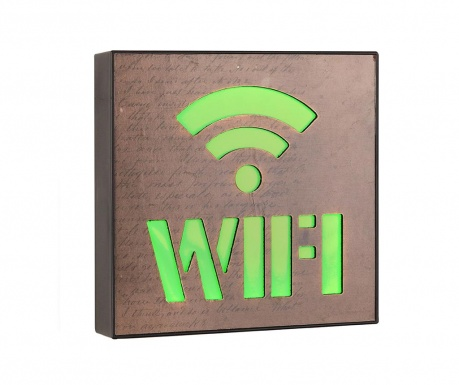 Świetlna dekoracja ścienna Wifi Zone