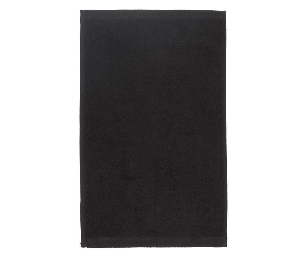 Prosop de baie Alfa Black 50x100 cm