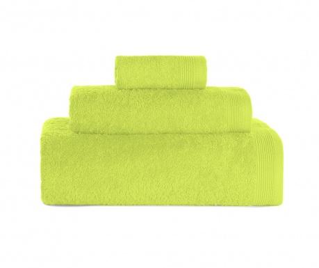 Delta Lime Green 3 db Fürdőszobai törölköző