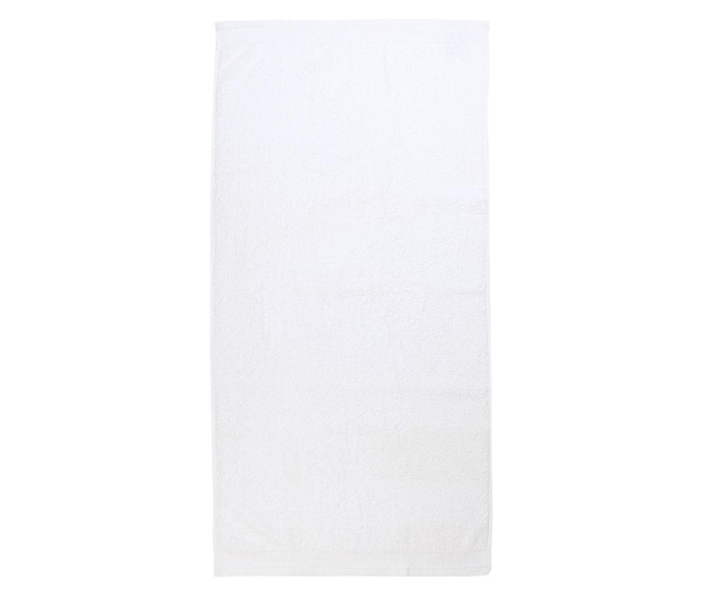 Prosop de baie Delta White 50x100 cm
