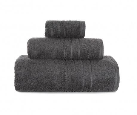 Комплект 3 кърпи за баня Omega Anthracite