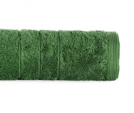 Kopalniška brisača Omega Moss Green 30x50 cm