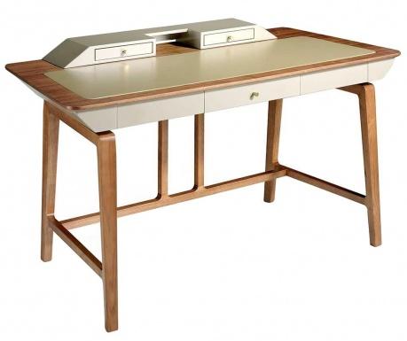 Pracovný stôl Helen Cream White
