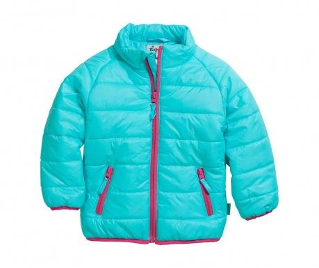 Dětská bunda Quince Turquoise 12 měs.