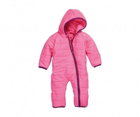 Dětský overal Quince Pink 10 měs.