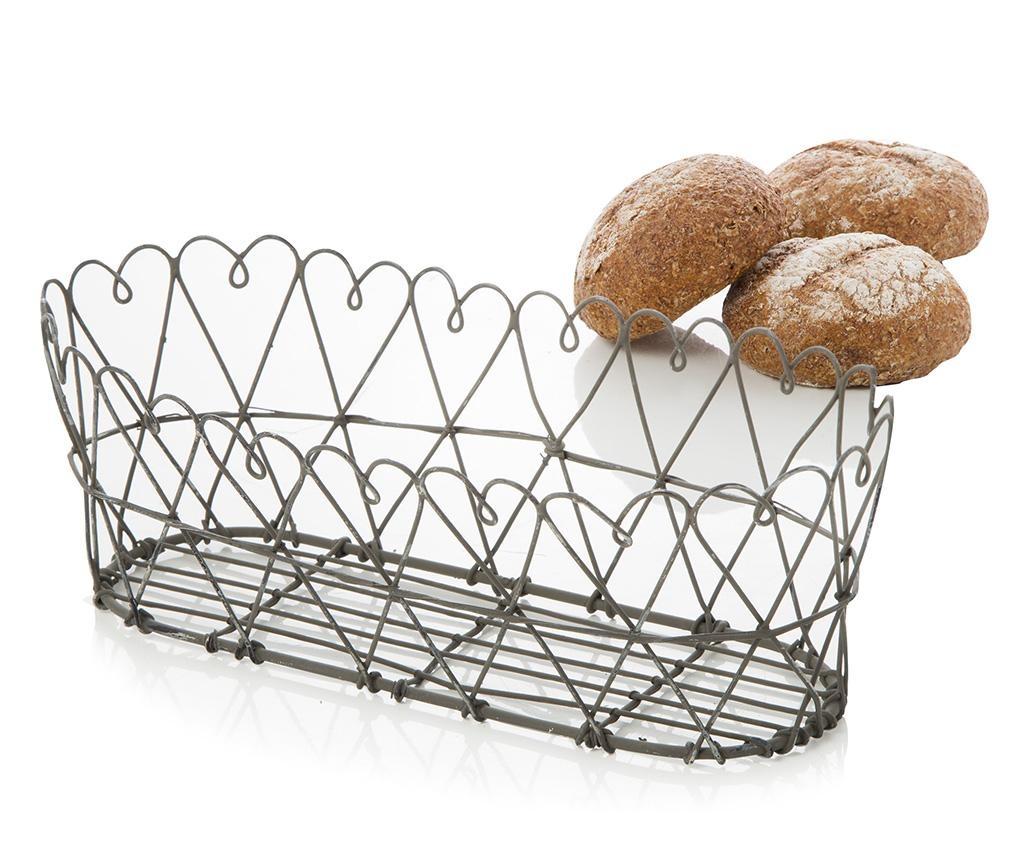 Košara za kruh Cecile Black
