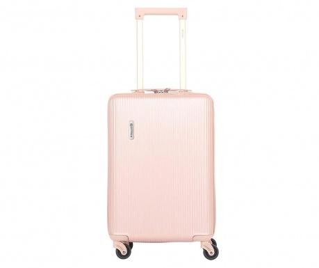 Cestovní kufr na kolečkách Mayfair Rose Gold 33 L