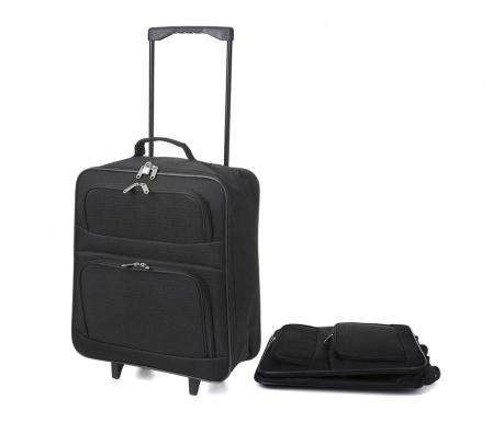 Skládací cestovní kufr na kolečkách Wanfa 39 L