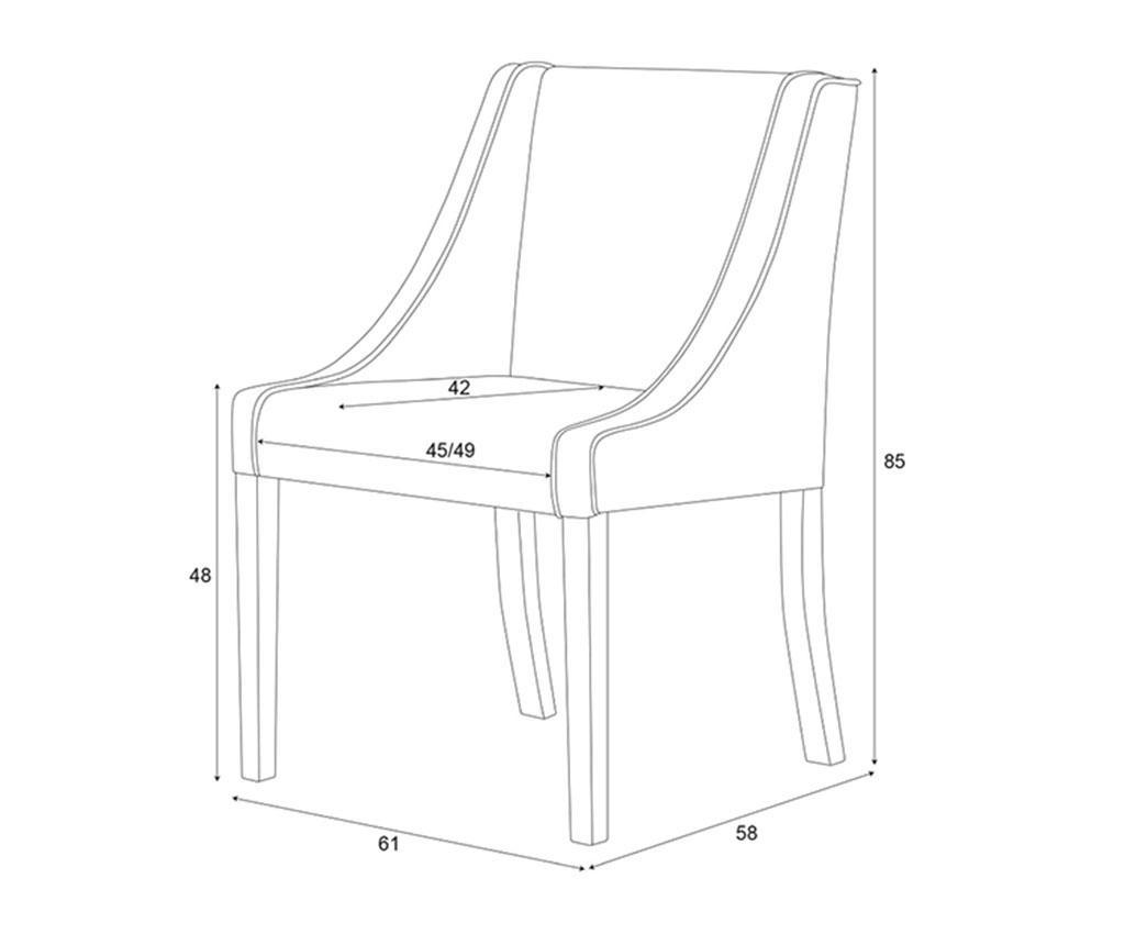 Set 2 scaune Guy Laroche Home Creativity Cream