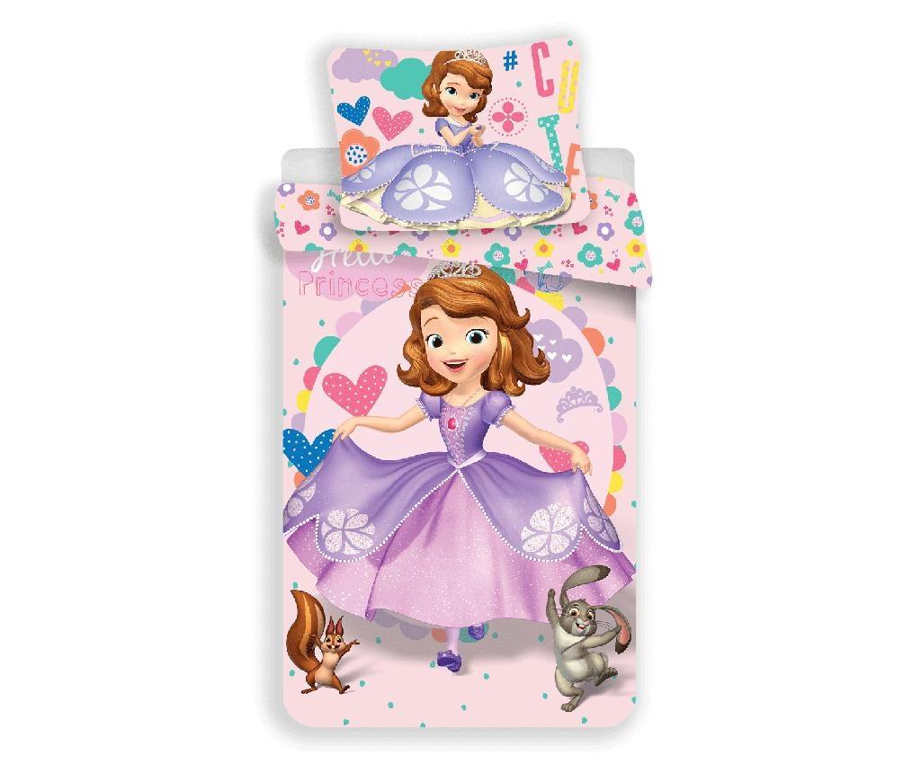 Set de pat Single Ranforce Princess Sofia