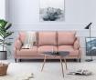Canapea extensibila 3 locuri Ancolie Pink