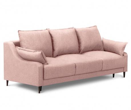Ancolie Pink Háromszemélyes kihúzható kanapé