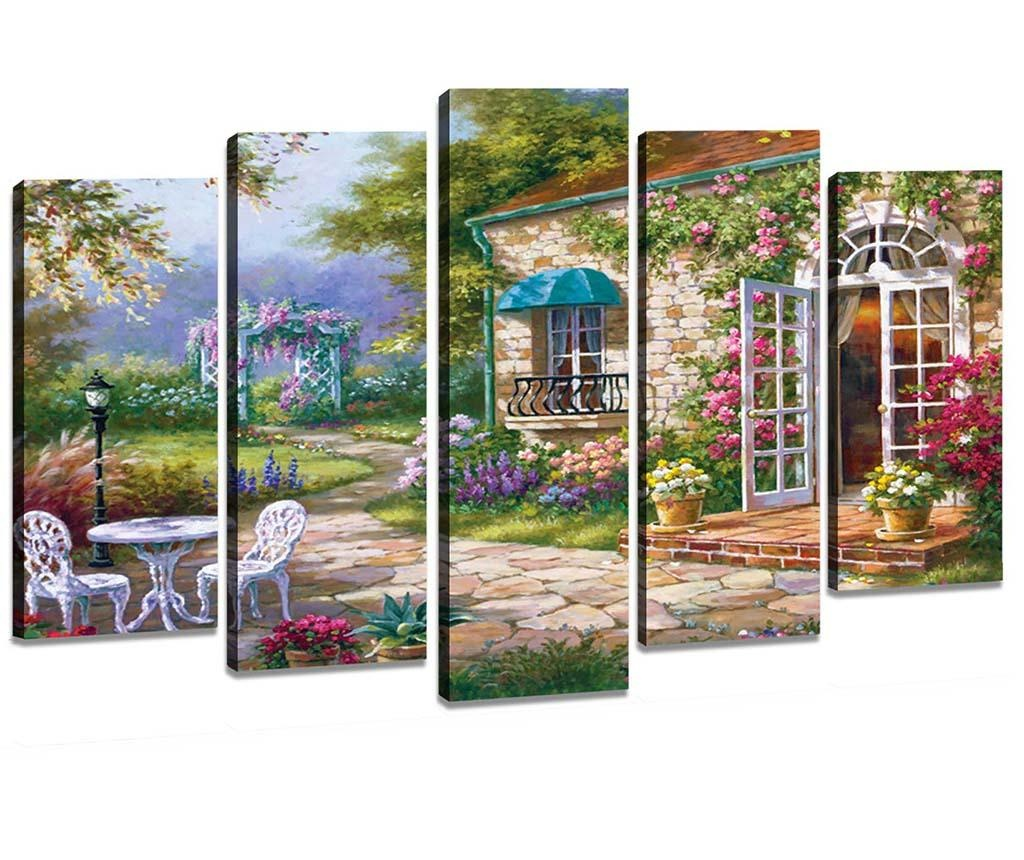Set 5 slika Garden