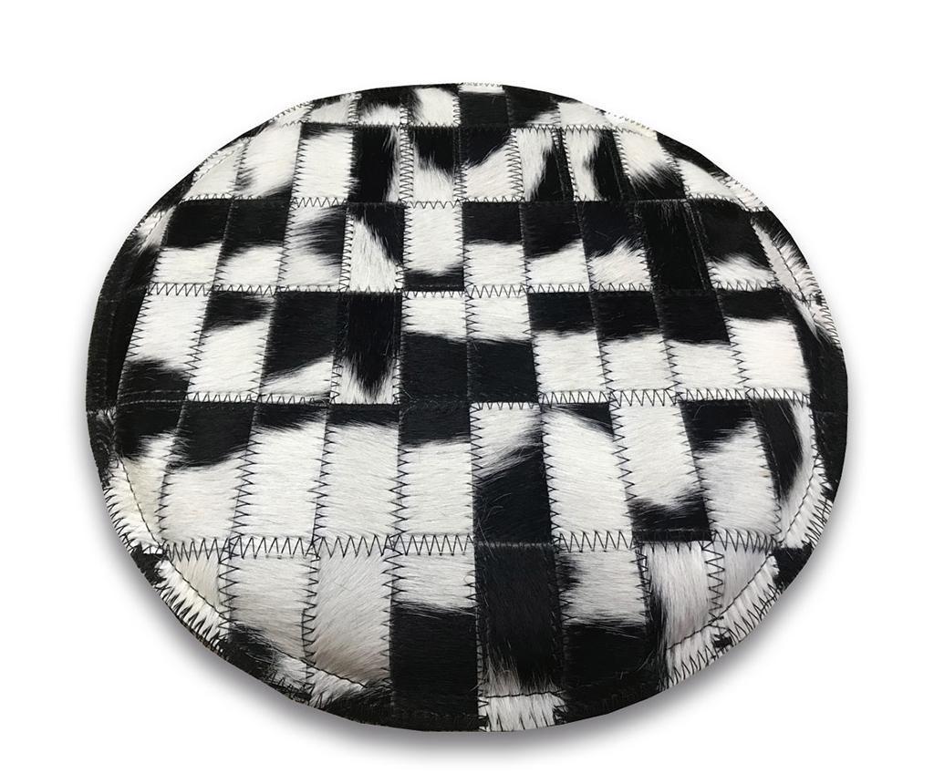 Perna de sezut Cow Black and White 35 cm