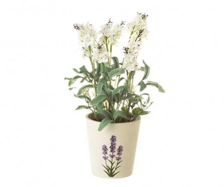 Sztuczna roślina w doniczce Garden White