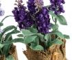 Set 3 umetnih lončnic Lavander Flowers