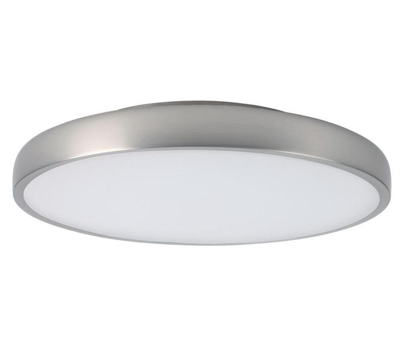 Stropna svjetiljka Placebo Satin Nickel