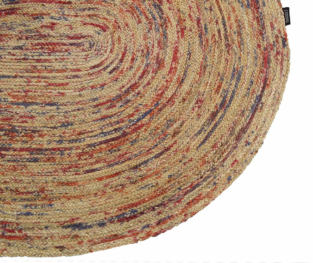 Tepih Roberta Oval Natural & Multi 90x160 cm