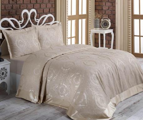 Zestaw na łóżko Double Rose Beige