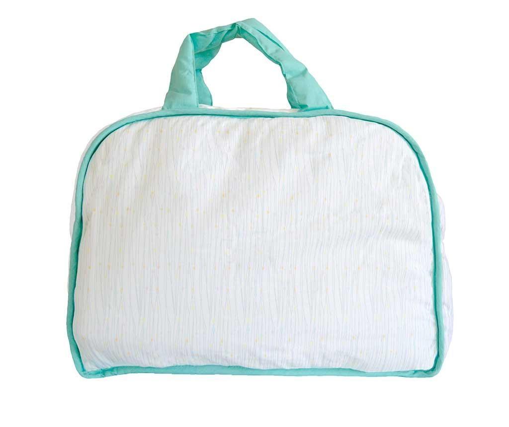 Set geanta si saltea pliabila pentru schimbat scutece Happy Hipo
