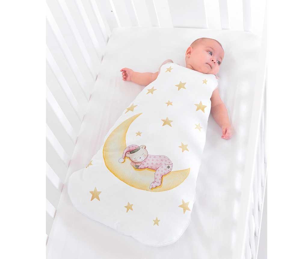 Sac de dormit pentru copii Marlon Night Pink 12-24 luni