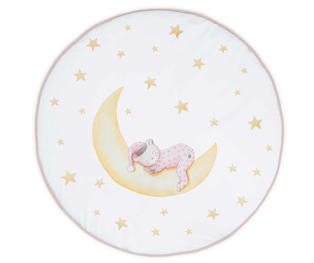 Covor pentru bebelusi Marlon Night Pink 90 cm