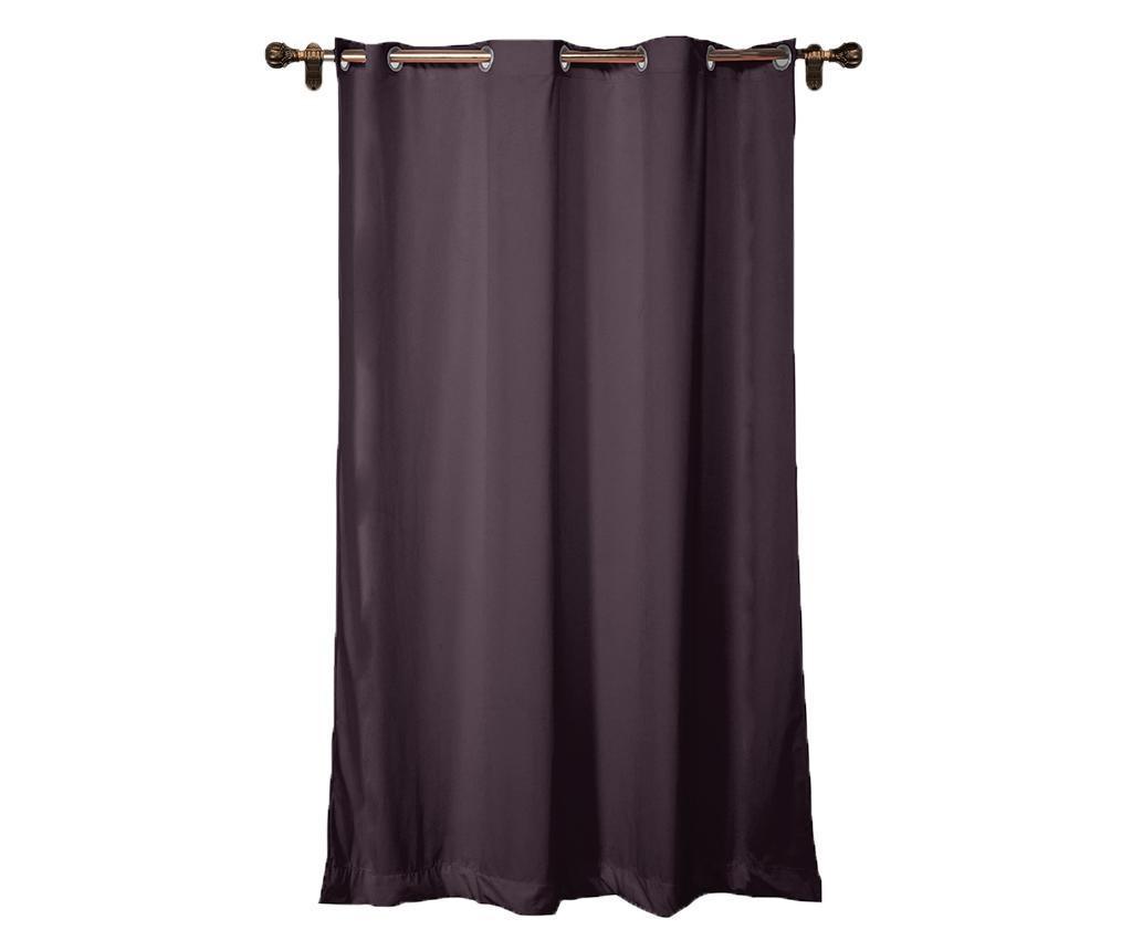 Draperie Simple Dark Violet 140x260 cm