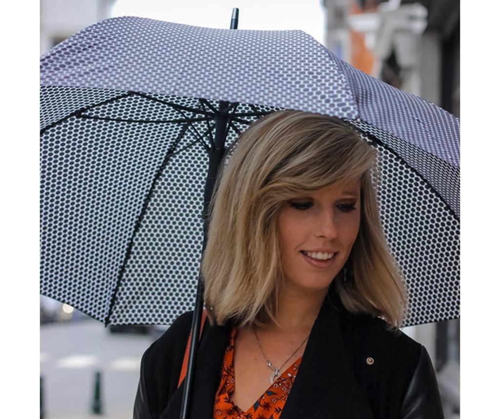 Umbrela Falconetti Ava Geometric Black