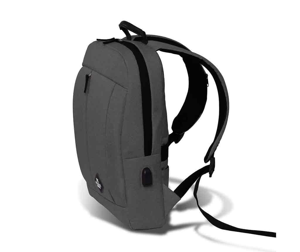 Rucsac USB Yosit Light Grey