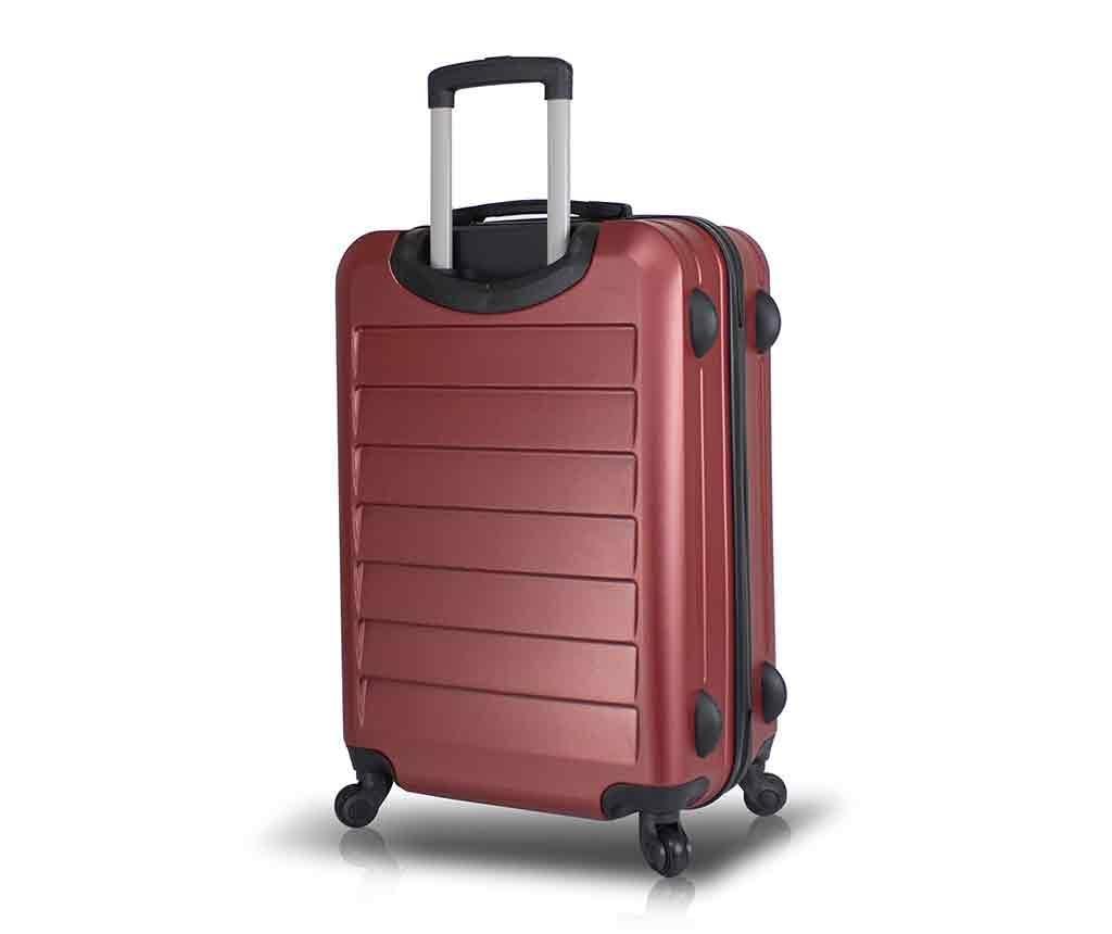 Putna torba s kotačićima Iuki Claret Red