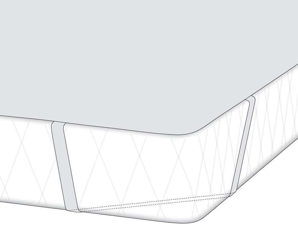 Protectie impermeabila pentru saltea Setex Generation Summer Winter 160x200 cm