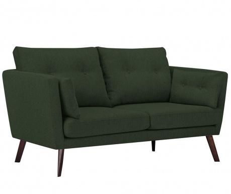 Elena Eli Bottle Green Kétszemélyes kanapé