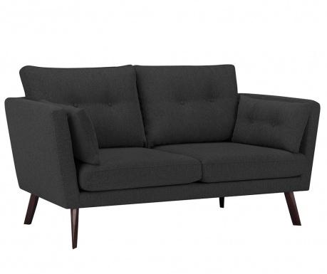 Elena Eli Dark Grey Háromszemélyes kanapé