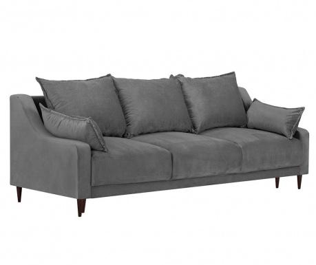Freesia Grey Háromszemélyes kihúzható kanapé